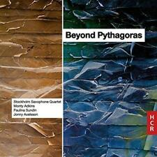 Stockholm Saxophone Quartet Monty Adkin - Beyond Pythagoras (NEW CD)