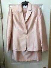 Le Suit Women's Shiny 1 Button Skirt Three Pieces suit  Size 8