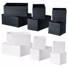 ikea aufbewahrungsboxen f r den wohnbereich aus holz g nstig kaufen ebay. Black Bedroom Furniture Sets. Home Design Ideas