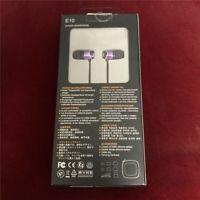 SoundMAGIC E10 Noise Isolating In-Ear Hifi Stereo Earphones 100% New & original