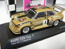 1/43 Minichamps BMW 320i Grp. 5 DRM 1977 J. Obermoser 400772305