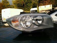 BMW 1 SERIES E87 116i 1.6 2004-2007 NSF PASSANGER SIDE HEADLIGHT 6312-6924487
