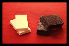 Abrader Set: flint knapping tools, arrowheads, flintknapping, 80 grit, 20 grit