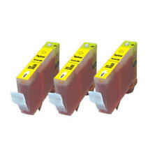 3 YELLOW Printer Ink + chip use for Canon CLI-226Y iP4920 MG5220 MG5320 MG6120