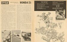 1960 Honda 150cc CA95 Motorcycle Road Test - 3-Page Vintage Article