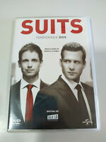 Suits Segunda Temporada 2 Completa - 4 x DVD Español Ingles - 3T