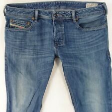 Mens Diesel ZATINY 008XR Bootcut Regular Fit Blue Jeans W36 L34