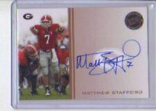 2009 Press Pass Matthew Stafford Autograph