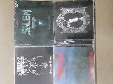 Hellhammer - Morbid - Salem - Rotting Christ - lot bundle cds package