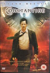 Constantine (DVD, 2005) Region 2 PAL U.K Release