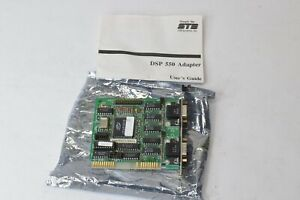 Vintage STB Dual Serial RS232 DB9 8bit ISA Controller Card 1X0-0213-001 DSP-550