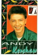 ANDY KERSHAW - Radio 1 DJ Presenter - Photo Card - VERY RARE - COLLECTABLE