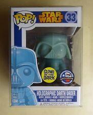 Funko POP Holographic Glow in The Dark Darth Vader Dallas Comic Con Exclusive