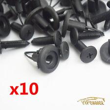 10X Bumper Cover Push Type Clip Retainer Fastener 9046709101 For Toyota Lexus