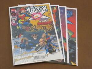 WEAPON X #1 - 4 FN/VF COMPLETE SERIES ORIGINAL AGE OF APOCALYPSE WOLVERINE HAVOK