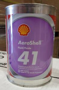 AEROSHELL HYDRAULIC FLUID 41 QUART MIL-PRF-5606H