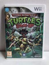 Nintendo Wii Turtles Smash-up VGC Disk like new PAL Dutch UK