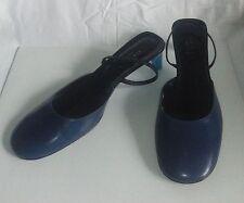 sandali GUCCI in pelle - taglia 9b (27 cm) - colore blu