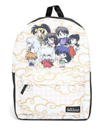 INUYASHA Group Clouds REGULAR size Backpack - BIOWORLD Chibi Anime - NEW