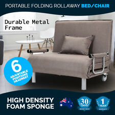 Bed/Chair Rollaway Home & Garden Furniture Desks Portable Folding Beds New