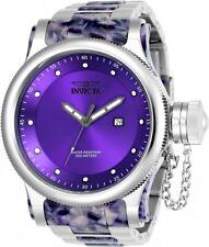 Invicta 23819 Men's 52mm Russian Diver Remix Quartz Purple SS Watch