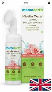 Mamaearth Micellar Water Foaming Face Wash With Rosewater & Glycolic Acid -150ml