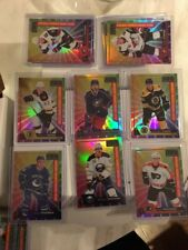 10x2016-17 OPC Platinum Rainbow Color Wheel  Rookies - Strome,Provorov,Carlo Etc