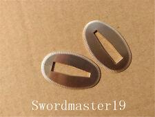 4 Polished Brass Washer Seppa Spacer for Japanese Sword Katana Wakizashi Tanto