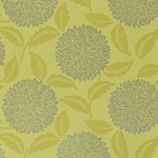 Sanderson Wallpaper, Amari Papers Collection, Design: Ceres, Colour: Lime