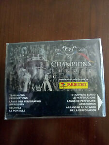 Champions of Europe 1955-2005 Panini 1 Display/Box With 50 Packets Messi Rookie?
