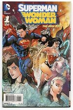 SUPERMAN/WONDER WOMAN #1,2,5,6,10,11 - TONY DANIEL ART & COVER - 2014