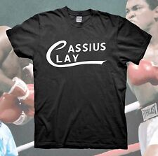 MUHAMMAD ALI T-Shirt Cassius Clay Logo The Greatest Boxing Vintage Retro RIP New