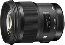 Sigma Art Camera Lenses for Sony 50mm Focal