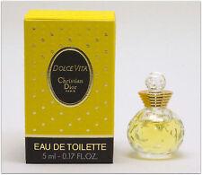 DOLCE VITA DIOR EAU DE TOILETTE  5 ml. 0.17 fl.oz. Miniperfume.