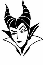 Maleficent Car Stickers Vinyl Decal , Motorcycle  Wall Room Windows Laptop Mac