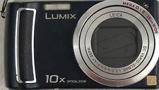 Panasonic LUMIX DMC-TZ4 8.1MP Digital 10x Optical Zoom Camera - Black. Used.