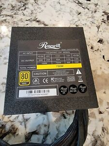 Rosewill CAPSTONE-750 Power Supply (750 Watts, 80 Plus Gold)