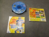 NFL 2K (Sega Dreamcast, 1999)   Complete in Box - CIB