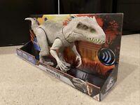 Jurassic World: Destroy 'N Devour - Indominus Rex; Dino Rivals, Mattel, Kids Toy