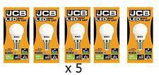 5x JCB LED 6w = 40w SES/E14 Golf Ball Bulbs Screw Cap Warm White Energy Class A+