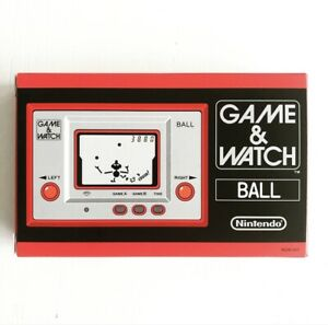 Nintendo Game & Watch Ball Reissue 2010 Rgw-001 From Japan NEW