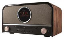 Soundmaster NR 850,Nostalgie Stereo DAB+ USB Radio mit CD und Bluetooth