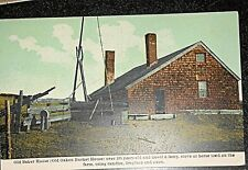 c1912 Baker House, Old Oaken Bucket Hand Tinted Postcard, Great condition!