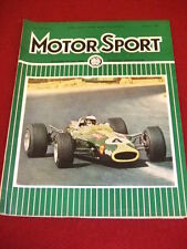 MOTORSPORT - FEB 1968 VOL XLIV # 2