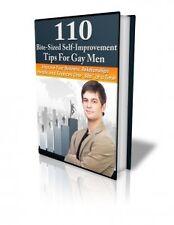 110 Bite-Sized Self-Improvement Tips for Gay Men - eBook
