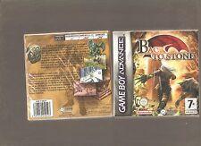 Back to Stone pour Game Boy Advance