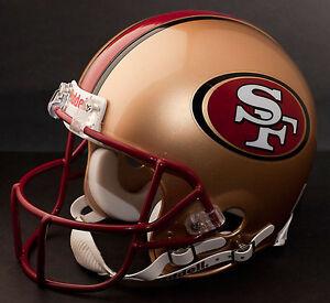 JERRY RICE Edition SAN FRANCISCO 49ers Riddell REPLICA Football Helmet