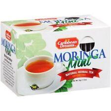 Caribbean Dreams Moringa borse di tè alla menta 32g (pacco da 3) - importazione Giamaicano