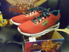 US Size 2 Kids Exclusive Captain Marvel Shoes New in Box never used!