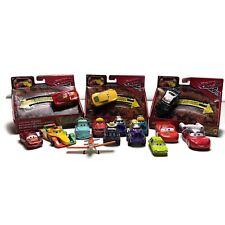 Disney Pixar Cars Movie Diecast Cars planes Tonka Chuck Mini Racers Lighting Lot